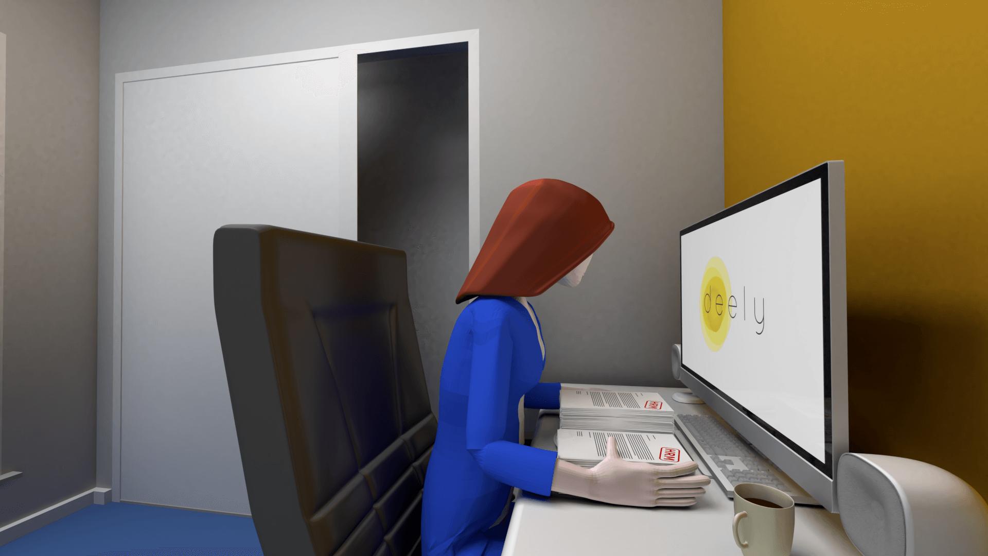 Multimedia (animatie) voor Deely